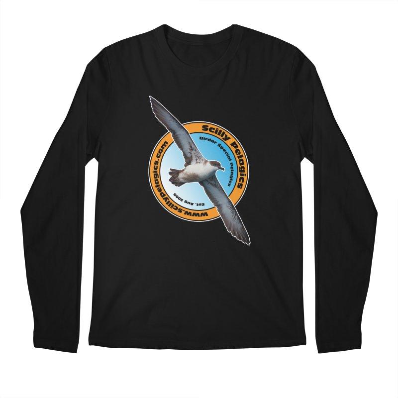 Scilly Pelagics - Great Shearwater Men's Longsleeve T-Shirt by Oceanrunner's Artist Shop