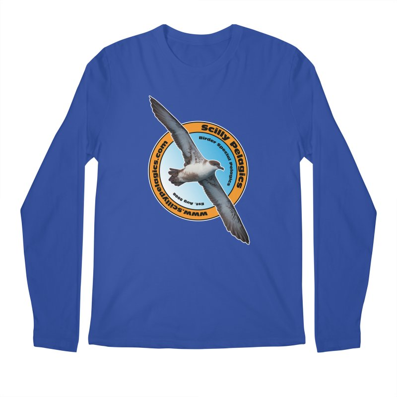 Scilly Pelagics - Great Shearwater Men's Longsleeve T-Shirt by Oceanrunner's Artist Shop