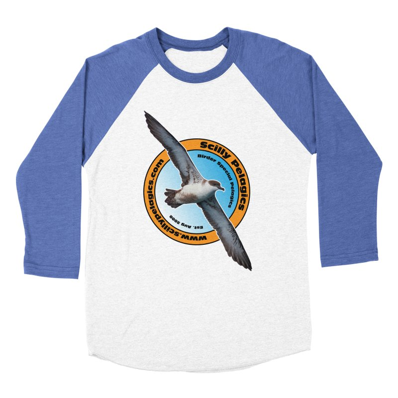 Scilly Pelagics - Great Shearwater Women's Baseball Triblend T-Shirt by Oceanrunner's Artist Shop