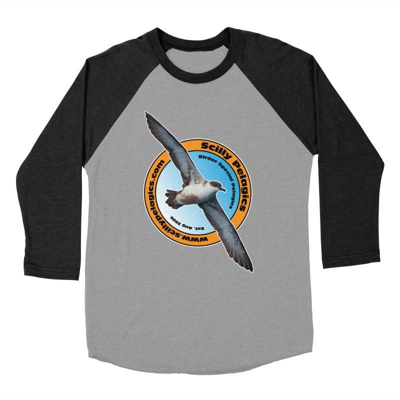 Scilly Pelagics - Great Shearwater Men's Baseball Triblend T-Shirt by Oceanrunner's Artist Shop