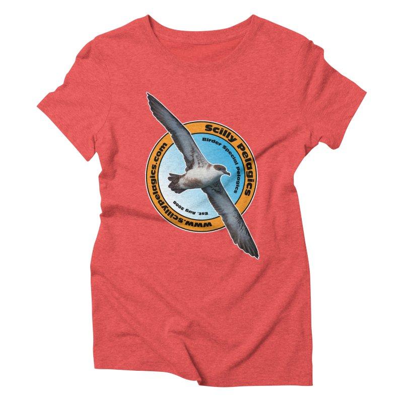 Scilly Pelagics - Great Shearwater Women's Triblend T-Shirt by Oceanrunner's Artist Shop