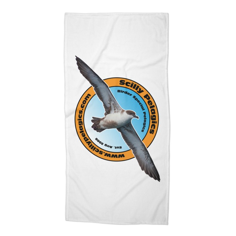Scilly Pelagics - Great Shearwater Accessories Beach Towel by Oceanrunner's Artist Shop
