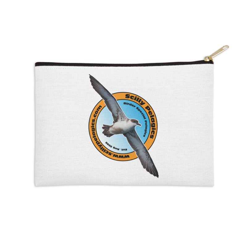 Scilly Pelagics - Great Shearwater Accessories Zip Pouch by Oceanrunner's Artist Shop