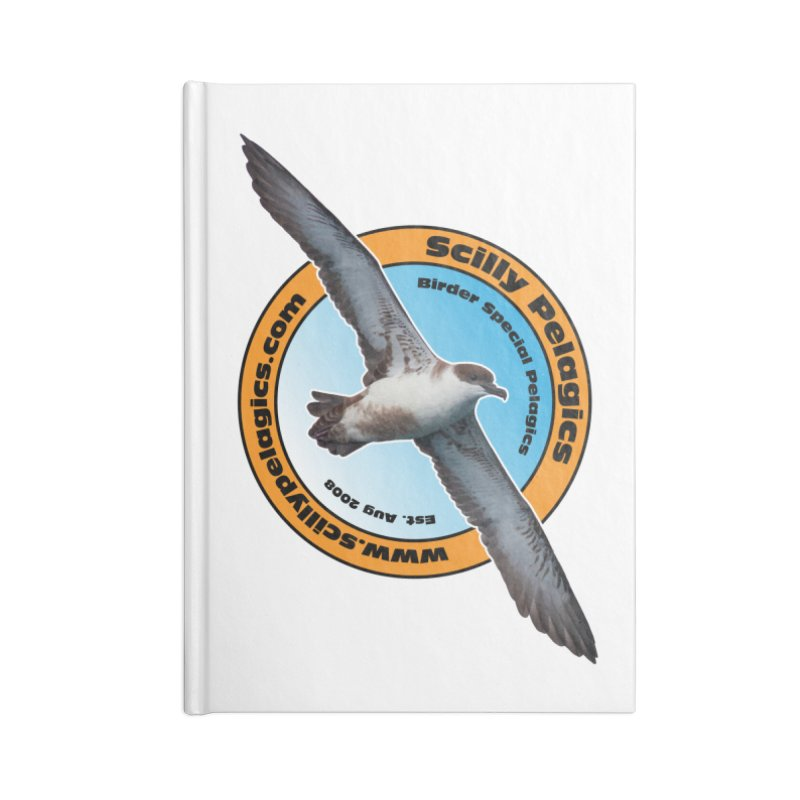 Scilly Pelagics - Great Shearwater Accessories Notebook by Oceanrunner's Artist Shop