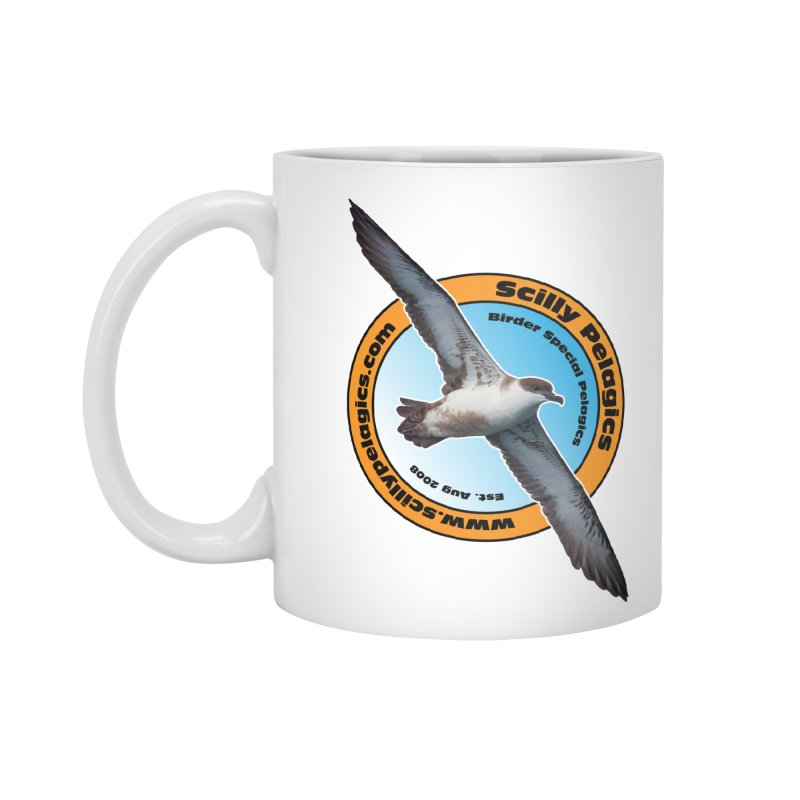 Scilly Pelagics - Great Shearwater Accessories Mug by Oceanrunner's Artist Shop