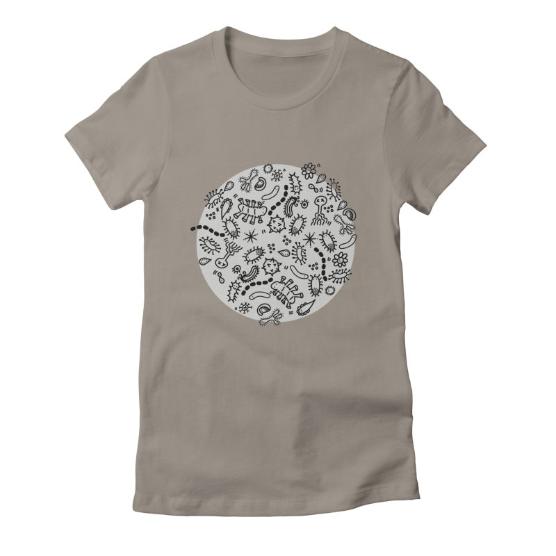 Microbiome Women's Fitted T-Shirt by