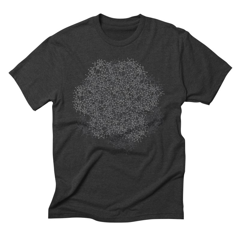 Geometric Men's Triblend T-shirt by