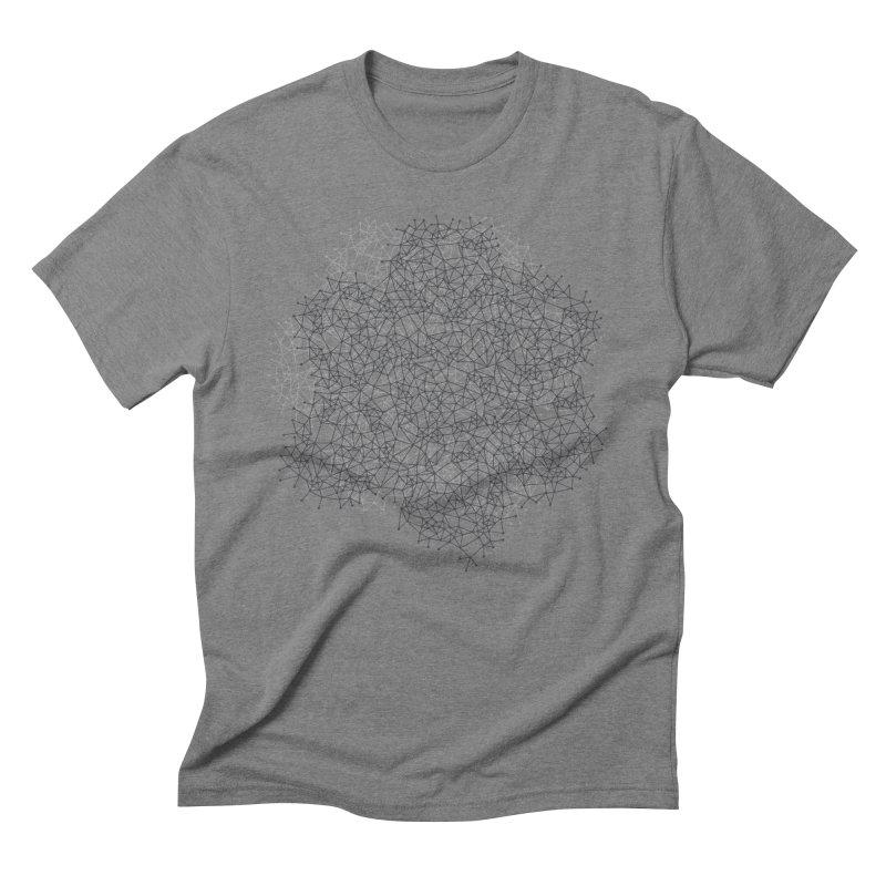 Geometric Men's Triblend T-shirt by