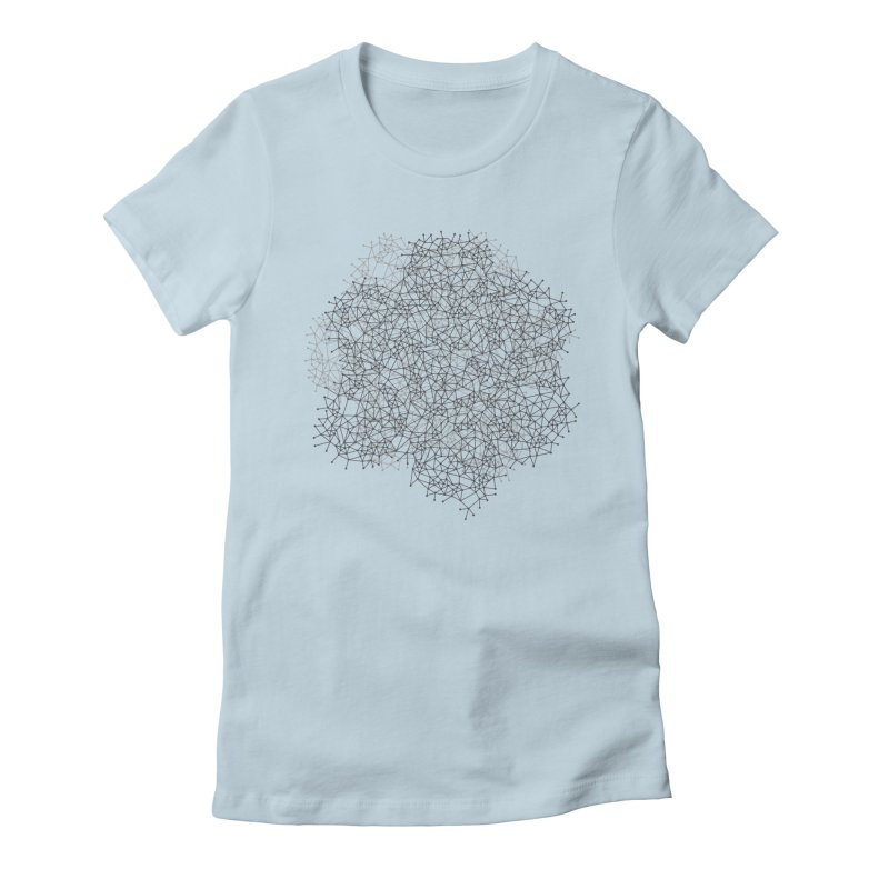 Geometric Women's Fitted T-Shirt by