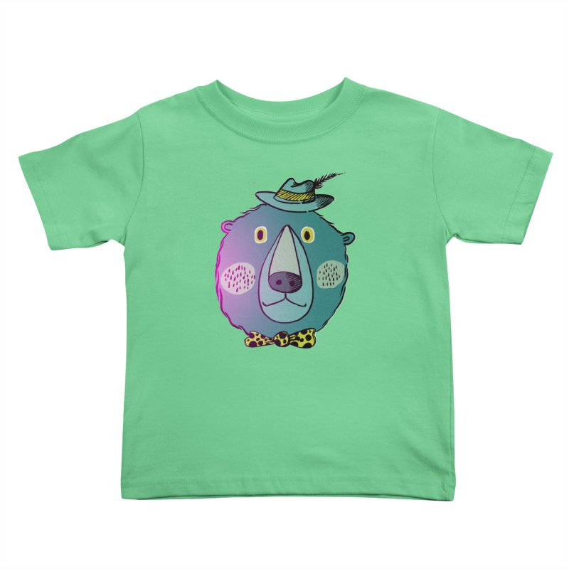 Papa Bear Kids Toddler T-Shirt by