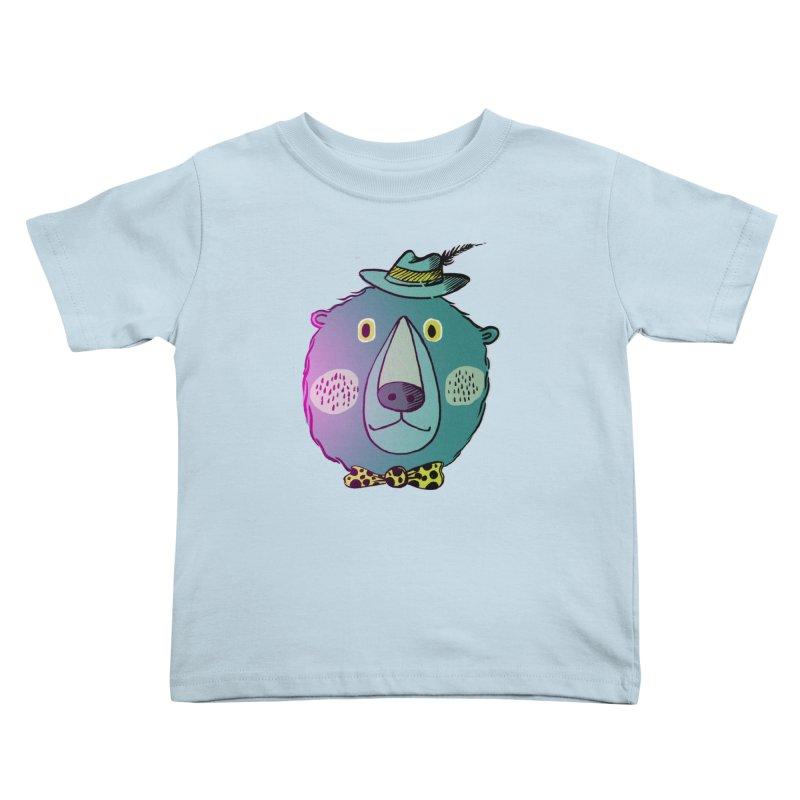 Papa Bear Kids Toddler T-Shirt by