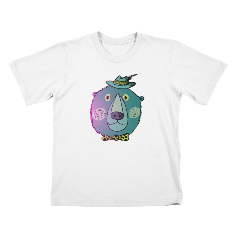 Papa Bear Kids T-Shirt by
