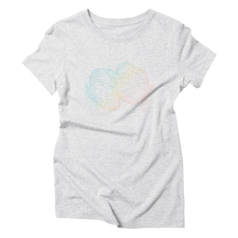 Geometric doodles Women's Triblend T-shirt by