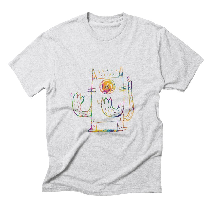 Miro plays the invisible flute Men's Triblend T-Shirt by