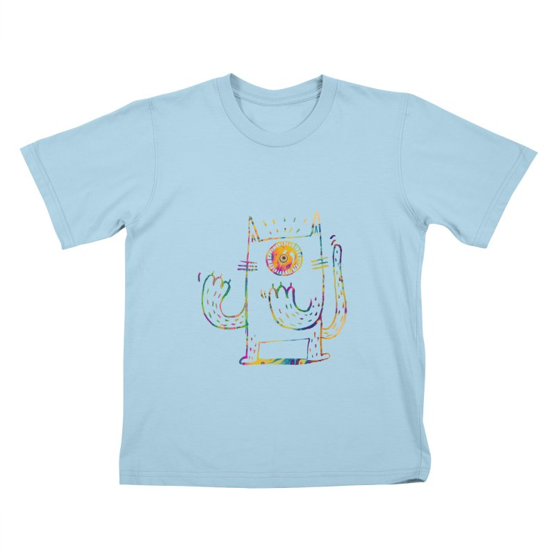 Miro plays the invisible flute Kids T-shirt by