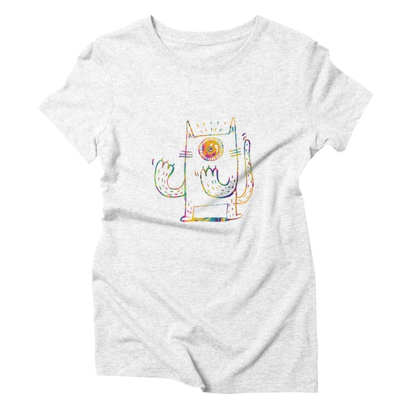 Miro plays the invisible flute Women's Triblend T-shirt by