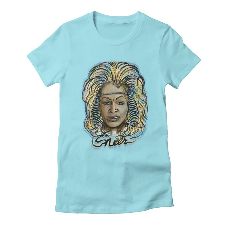 All We Want Is Life Beyond The Thunderdome Women's Fitted T-Shirt by octoberbuilt's Artist Shop