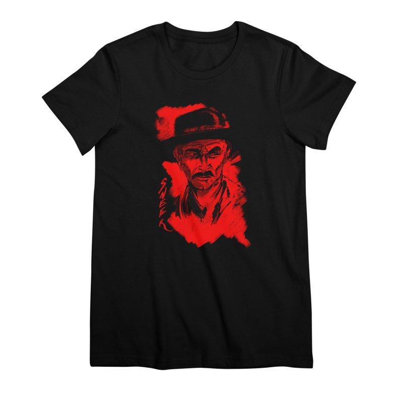 (Whistles In Italian) Women's Premium T-Shirt by octoberbuilt's Artist Shop