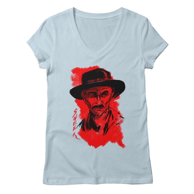 (Whistles In Italian) Women's Regular V-Neck by octoberbuilt's Artist Shop