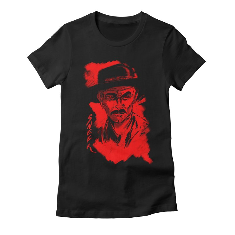 (Whistles In Italian) Women's Fitted T-Shirt by octoberbuilt's Artist Shop