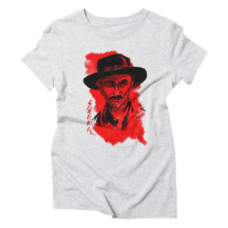 (Whistles In Italian) Women's Triblend T-Shirt by octoberbuilt's Artist Shop