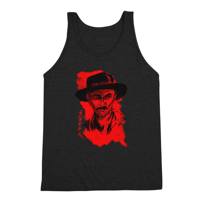 (Whistles In Italian) Men's Triblend Tank by octoberbuilt's Artist Shop