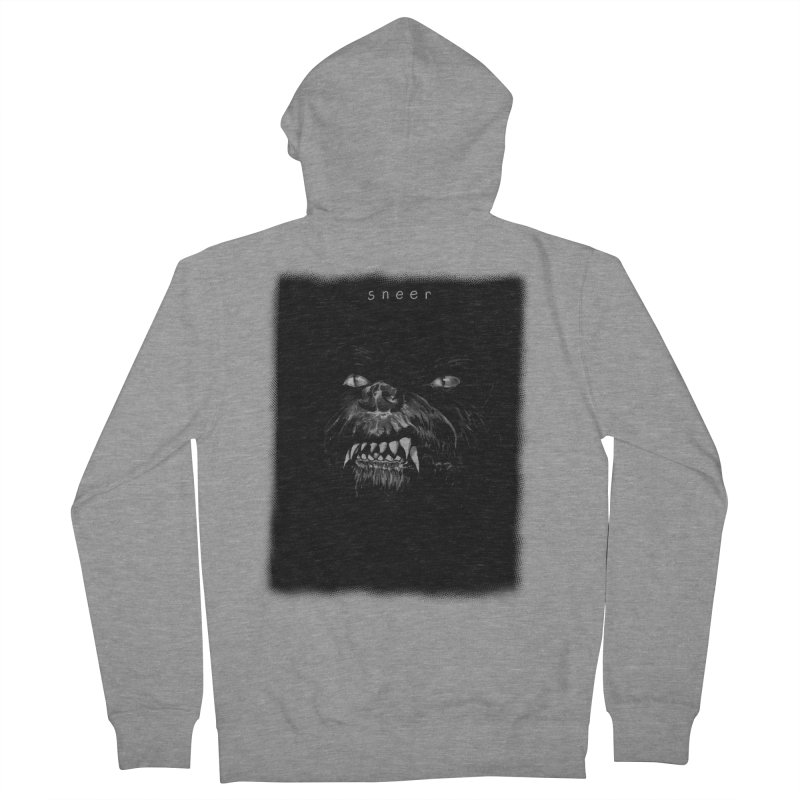 Trust In (The) Nothing Men's French Terry Zip-Up Hoody by octoberbuilt's Artist Shop