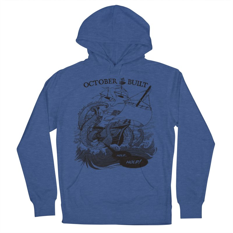 Hold Fast Women's French Terry Pullover Hoody by octoberbuilt's Artist Shop
