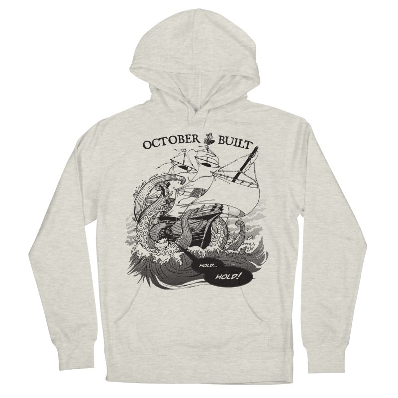 Hold Fast Men's French Terry Pullover Hoody by octoberbuilt's Artist Shop