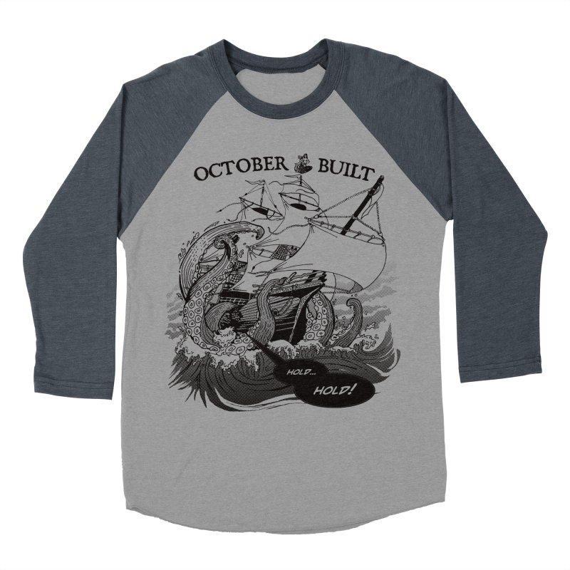 Hold Fast Men's Baseball Triblend Longsleeve T-Shirt by octoberbuilt's Artist Shop