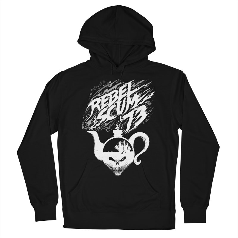 Rebel Scum Men's French Terry Pullover Hoody by octoberbuilt's Artist Shop