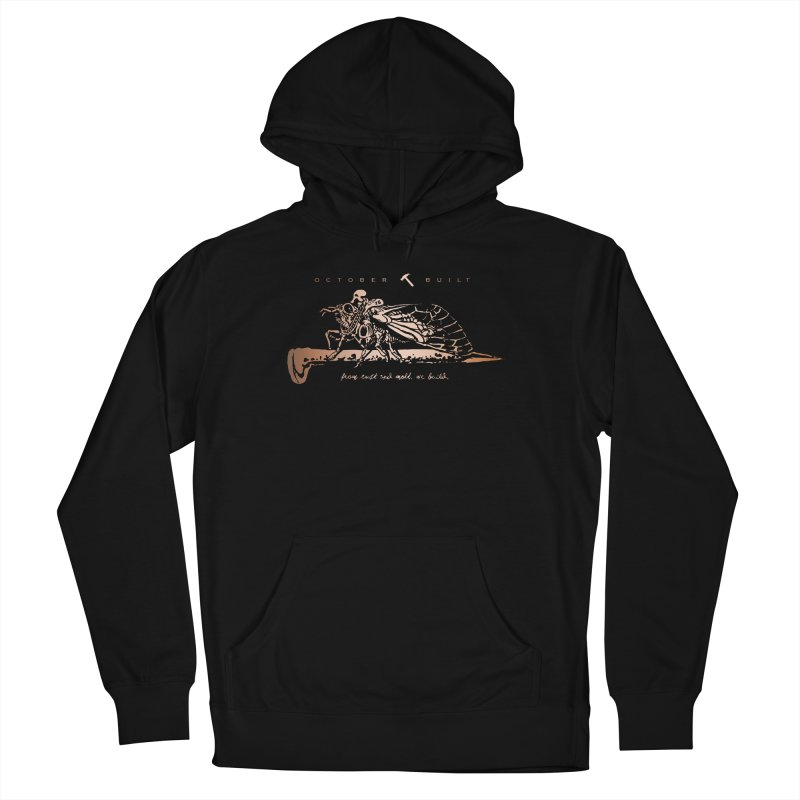 Rust and Molt Men's French Terry Pullover Hoody by octoberbuilt's Artist Shop