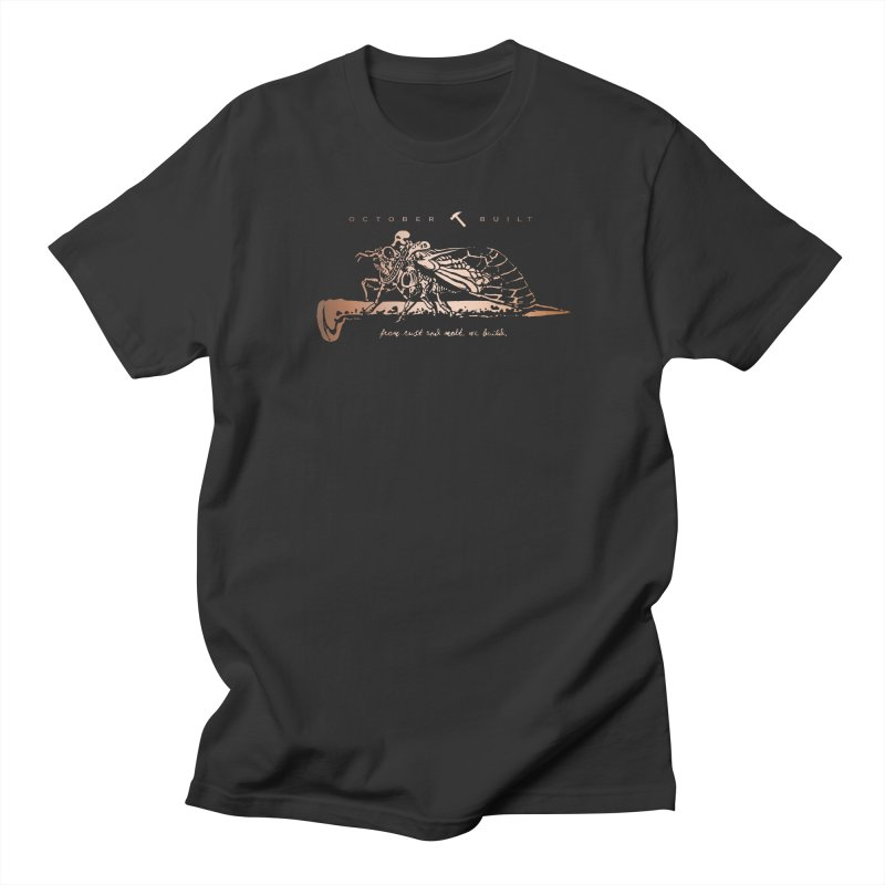 Rust and Molt Men's T-Shirt by octoberbuilt's Artist Shop