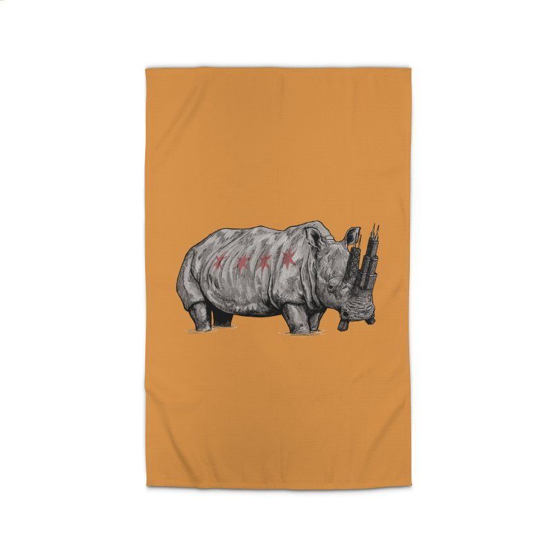Chi-Noceros Home Rug by Octophant's Artist Shop