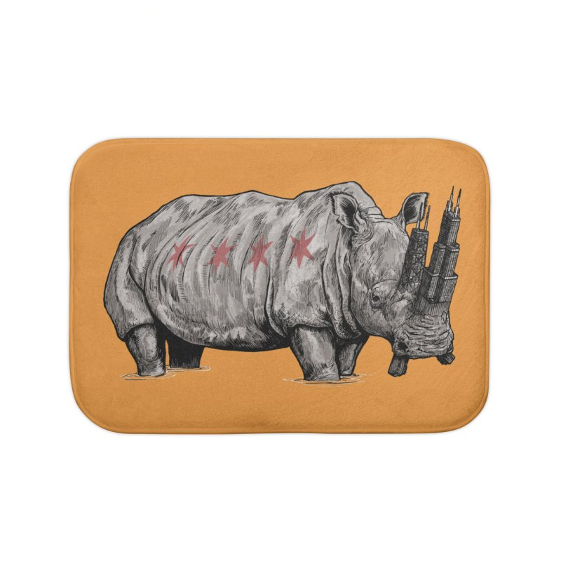Chi-Noceros Home Bath Mat by Octophant's Artist Shop