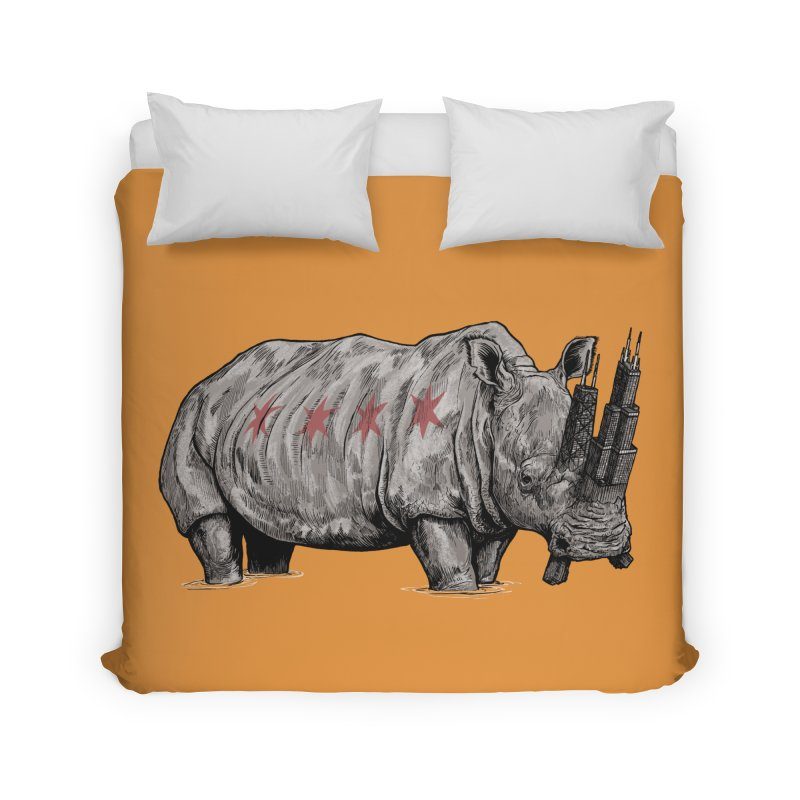 Chi-Noceros Home Duvet by Octophant's Artist Shop