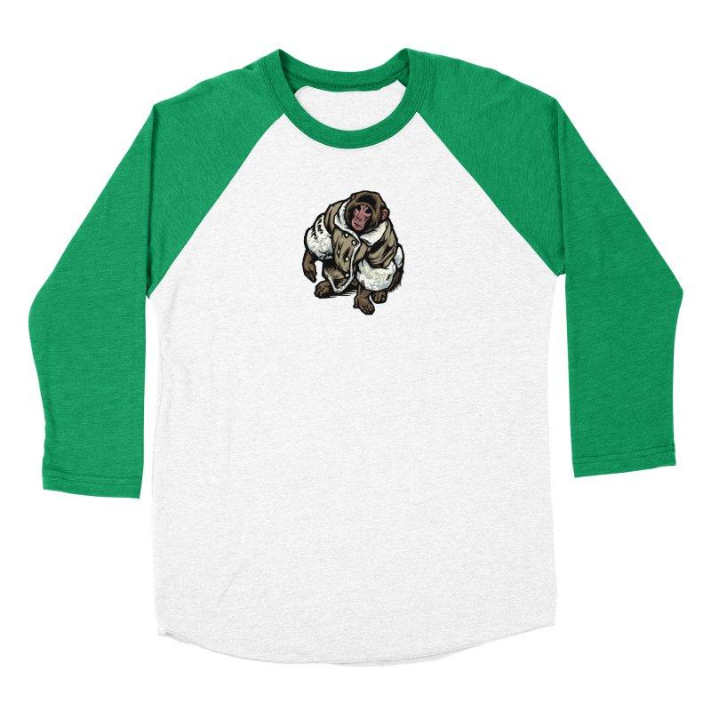 Ikea Mønkëy Women's Baseball Triblend Longsleeve T-Shirt by Octophant's Artist Shop