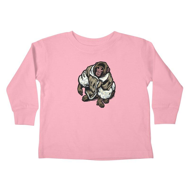 Ikea Mønkëy Kids Toddler Longsleeve T-Shirt by Octophant's Artist Shop