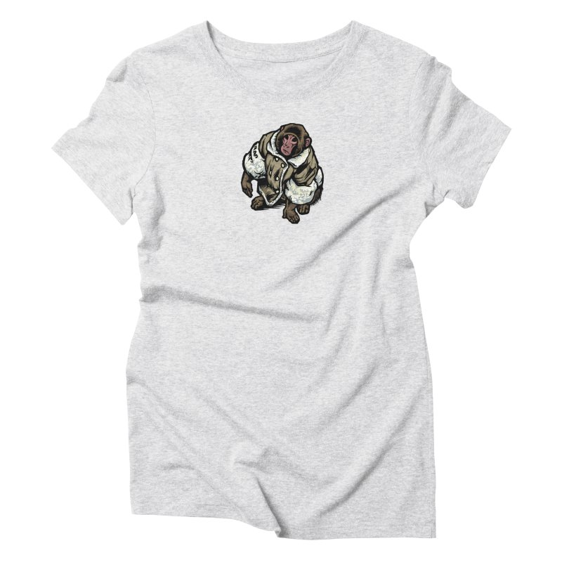Ikea Mønkëy Women's Triblend T-Shirt by Octophant's Artist Shop