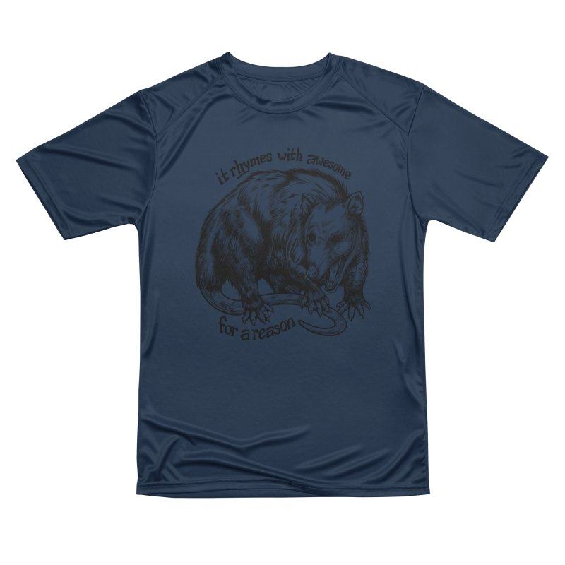 Awesome Possum (Low Key) Men's Performance T-Shirt by Octophant's Artist Shop