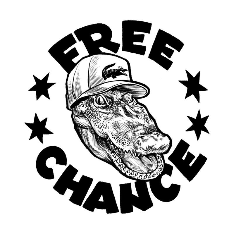 Free Chance (Black Print) by Octophant's Artist Shop