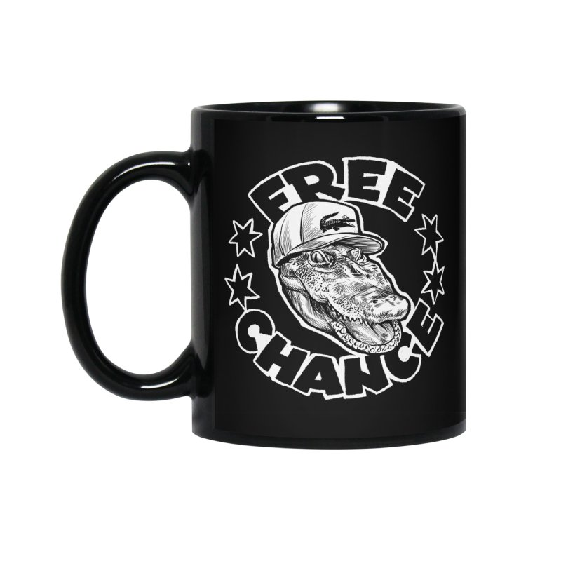 Free Chance (White Print) Accessories Standard Mug by Octophant's Artist Shop