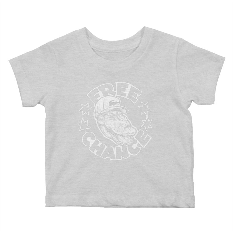 Free Chance (White Print) Kids Baby T-Shirt by Octophant's Artist Shop