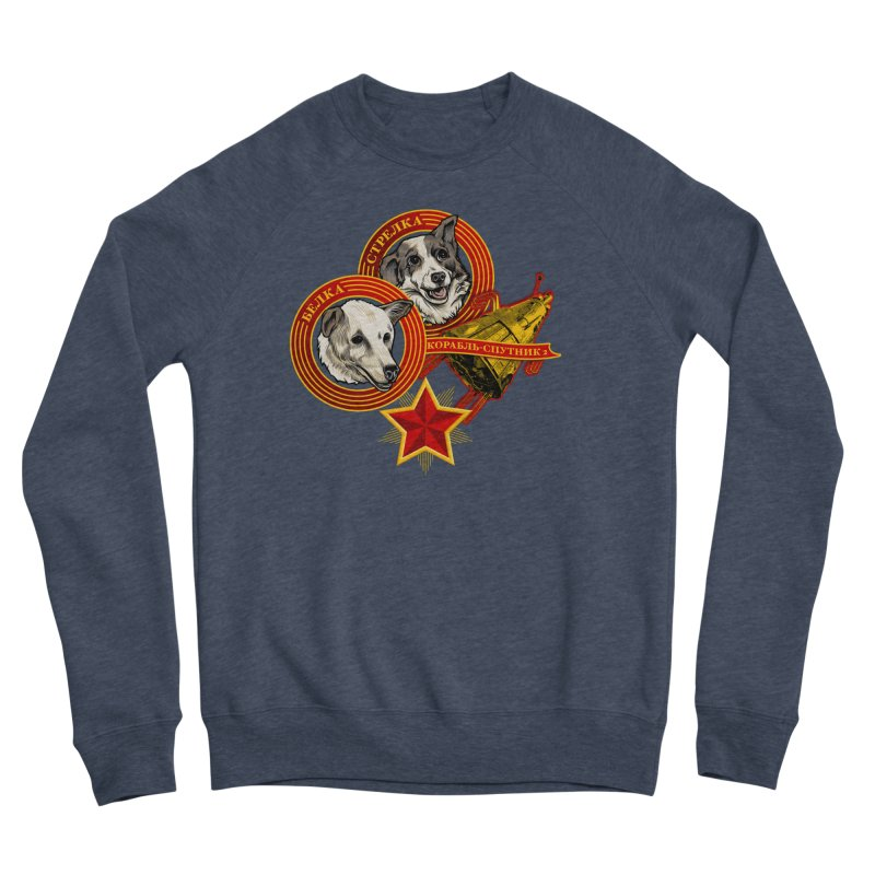 Belka & Strelka Women's Sponge Fleece Sweatshirt by Octophant's Artist Shop
