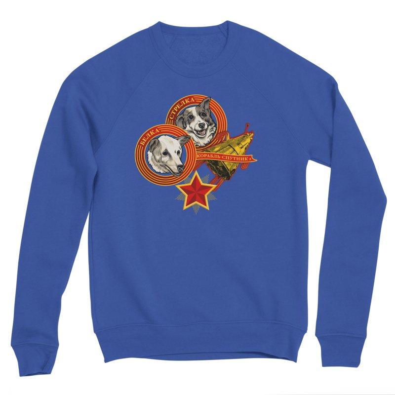 Belka & Strelka Men's Sponge Fleece Sweatshirt by Octophant's Artist Shop