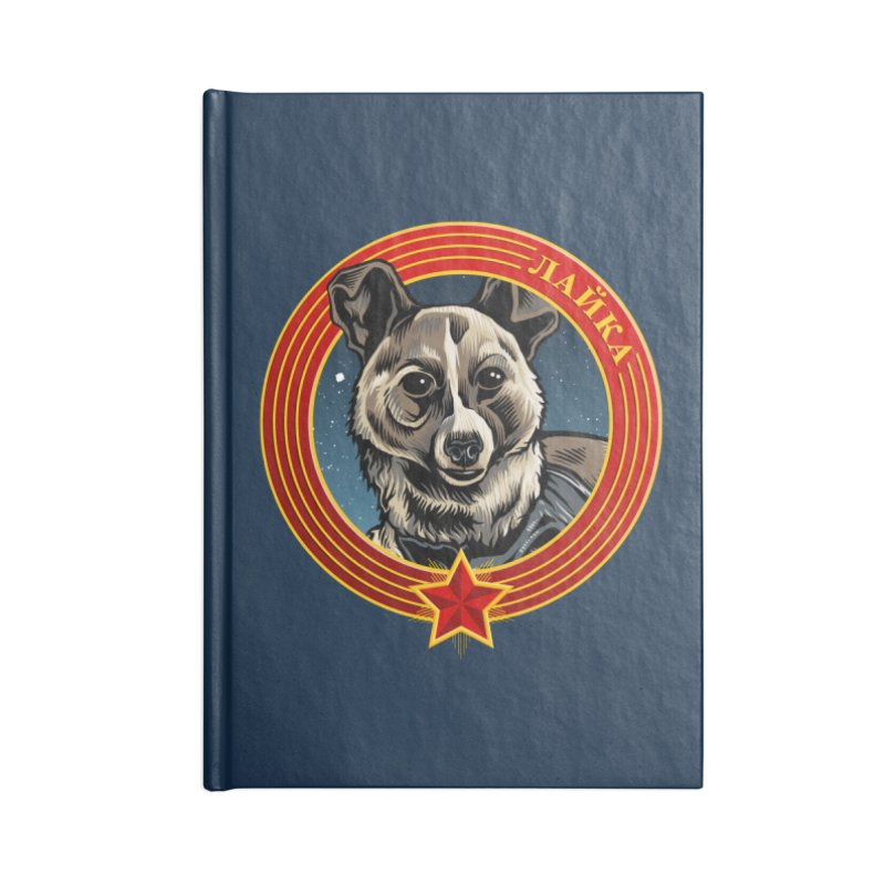 Laika (2019) Accessories Lined Journal Notebook by Octophant's Artist Shop