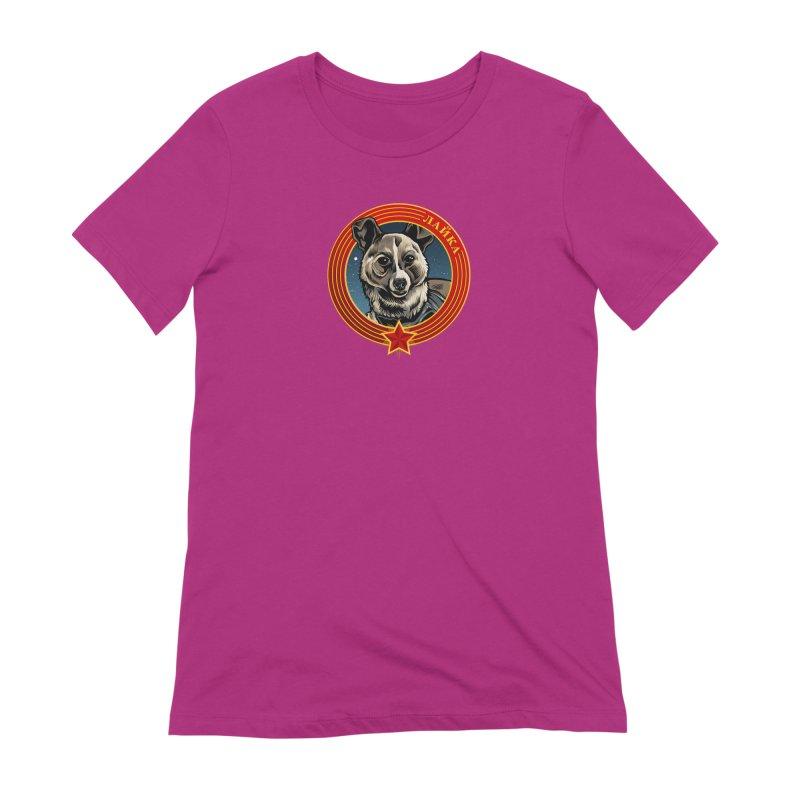 Laika (2019) Women's Extra Soft T-Shirt by Octophant's Artist Shop