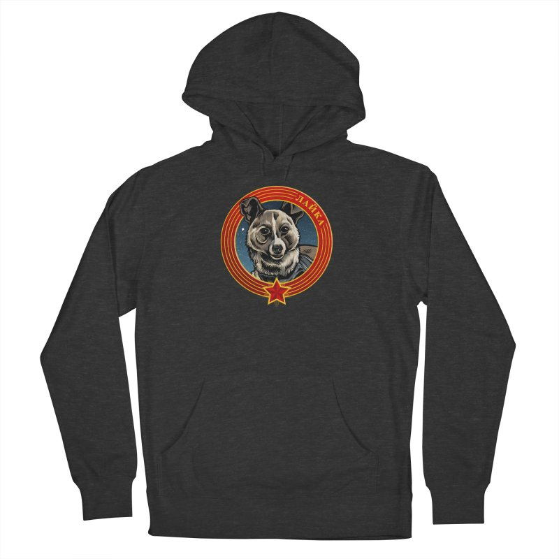 Laika (2019) Women's French Terry Pullover Hoody by Octophant's Artist Shop