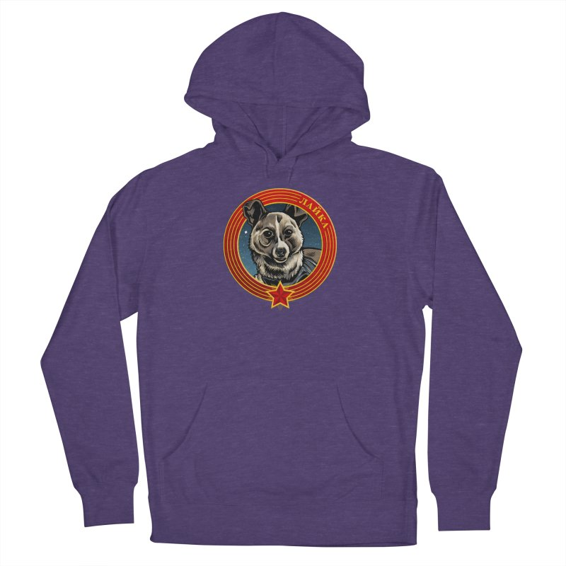 Laika (2019) Men's French Terry Pullover Hoody by Octophant's Artist Shop
