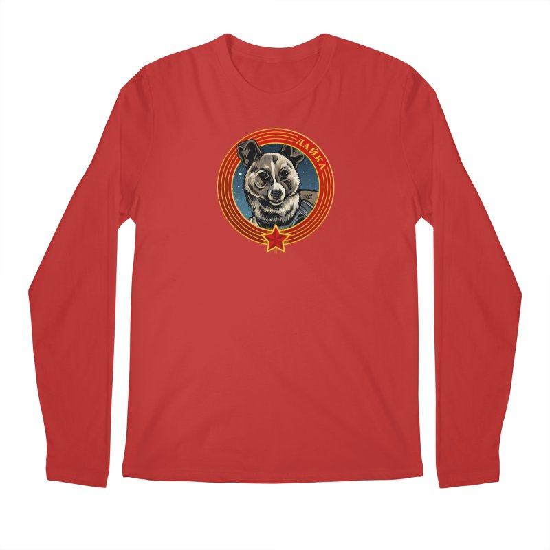 Laika (2019) Men's Regular Longsleeve T-Shirt by Octophant's Artist Shop